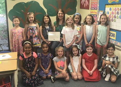 Sarah Trimm Named 2018 Creative Teacher