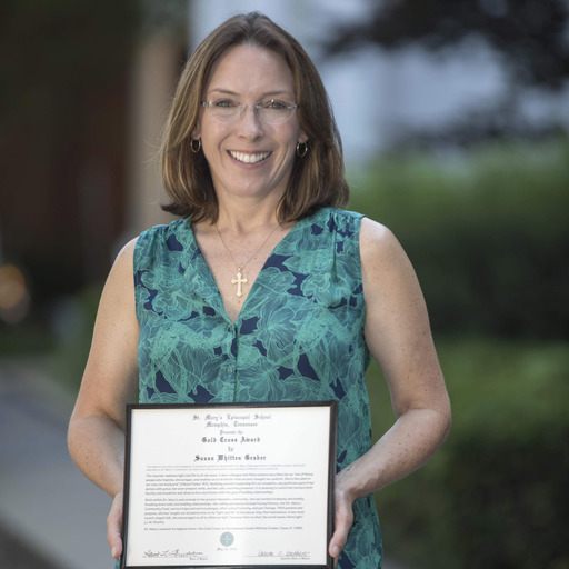 St. Mary's Highest Honor Awarded to Susan Whitten Graber '86