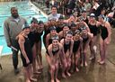 Middle School Swim Team Places 1st in County